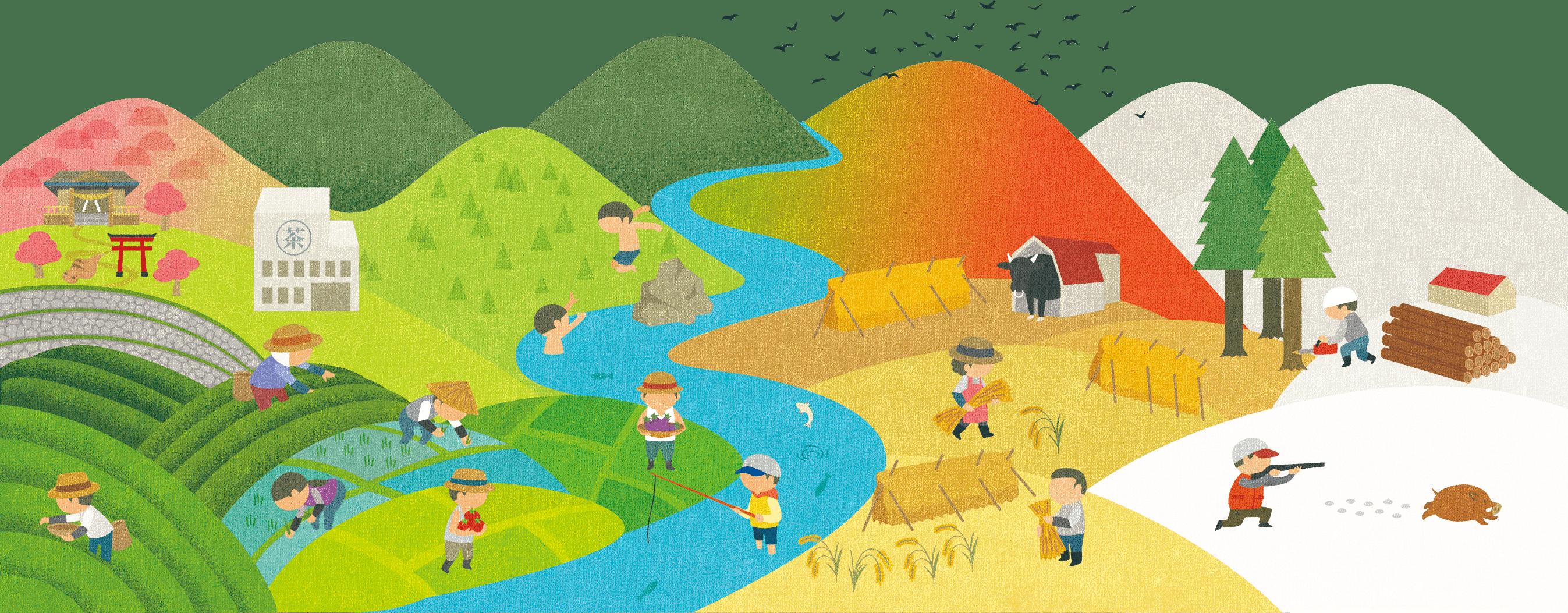 一所懸命。農業で村の未来を創る。