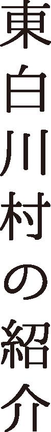 東白川村の紹介